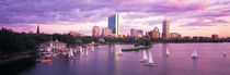 Dusk Boston MA by Panoramic Images