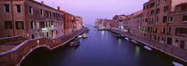 Buildings along a canal, Cannaregio Canal, Venice, Italy by Panoramic Images