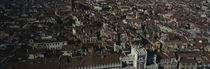 View fr San Marcos Tower Venice Italy by Panoramic Images