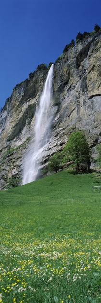 Lauterbrunnen Valley, Bernese Oberland, Berne Canton, Switzerland von Panoramic Images