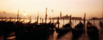 Gondolas San Giorgio Maggiore Venice Italy von Panoramic Images