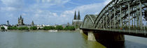 Rhine River, Cologne, Germany by Panoramic Images