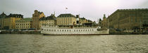Buildings at the waterfront, Skeppsbron, Gamla stan, Stockholm, Sweden von Panoramic Images