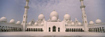 Low angle view of a mosque, Sheikh Zayed Mosque, Abu Dhabi, United Arab Emirates by Panoramic Images