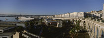 High angle view of a city, Algiers, Algeria by Panoramic Images