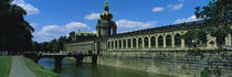 Facade of a building, Zwinger Palace, Dresden, Germany von Panoramic Images