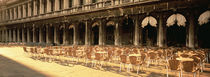 Chairs Outside A Building, Venice, Italy by Panoramic Images