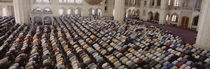 Turkey, Edirne, Friday Noon Prayer at Selimiye Mosque by Panoramic Images