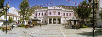 Decoration to celebrate National Day, John Mackintosh Square, Gibraltar by Panoramic Images