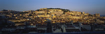 High Angle View Of Buildings In A City, Lisbon, Portugal von Panoramic Images