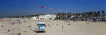 Tourists on the beach, Huntington Beach, Orange County, California, USA by Panoramic Images