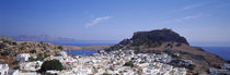 Panorama Print - Lindos Rhodos Griechenland von Panoramic Images