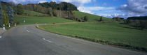 Road on a landscape, St. Peter, Schwarzwald, Germany von Panoramic Images