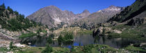 Lake Surrounded By Mountains, Mercantour, Hinterland, French Riviera von Panoramic Images
