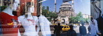 Window Reflection, Istanbul, Turkey von Panoramic Images