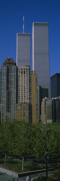 Buildings in a city, World Trade Center, New York City, New York State, USA von Panoramic Images