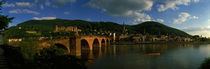 Bridge, Heidelberg, Germany by Panoramic Images