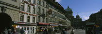 Group of people walking on the street, Marktgasse, Berne, Switzerland by Panoramic Images