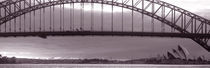 Harbor Bridge, Pacific Ocean, Sydney, Australia von Panoramic Images