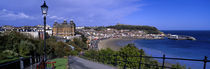 High Angle View Of A City, Scarborough, North Yorkshire, England, United Kingdom by Panoramic Images