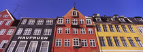 Low Angle View Of Houses, Nyhavn, Copenhagen, Denmark von Panoramic Images