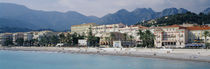 Hotels On The Beach, Menton, France von Panoramic Images