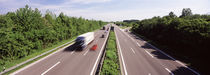 Vehicles on a highway, Bundesautobahn 81, Baden-Wurttemberg, Germany by Panoramic Images