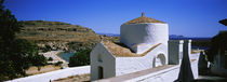 Chapel Of St George Pahimahiotis, Lindos, Rhodes, Greece by Panoramic Images