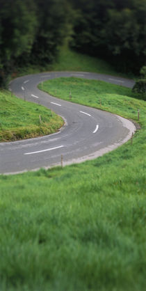 Switzerland, road by Panoramic Images