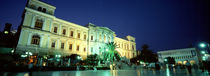 Low angle view of a building, Syros, Cyclades Islands, Greece by Panoramic Images