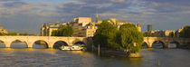 Seine River, Isle de la Cite, Paris, Ile-de-France, France by Panoramic Images