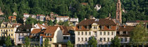 Old town on a hillside, Heidelberg, Baden-Wurttemberg, Germany by Panoramic Images