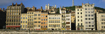 Buildings In A City, Lyon, France von Panoramic Images