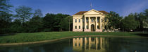 Classical style building near a pond, Munich, Bavaria, Germany von Panoramic Images