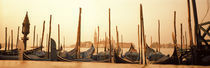 Gondolas moored at a harbor, San Marco Giardinetti, Venice, Italy by Panoramic Images