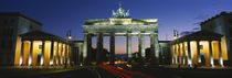 Low angle view of a gate, Brandenburg Gate, Berlin, Germany by Panoramic Images