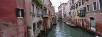 Buildings on both sides of a canal, Grand Canal, Venice, Italy von Panoramic Images