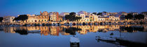 Buildings at the waterfront, Porto, Majorca, Spain by Panoramic Images