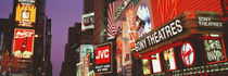 Billboards On Buildings, Times Square, NYC, New York City, New York State, USA by Panoramic Images