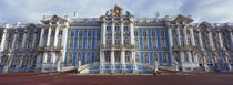 Facade of a palace, Catherine Palace, Pushkin, St. Petersburg, Russia von Panoramic Images