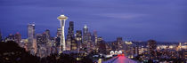Seattle, King County, Washington State, USA by Panoramic Images