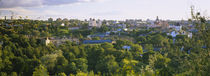 High angle view of a city, Vilnius, Trakai, Lithuania von Panoramic Images