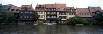 Buildings at the waterfront, Bamberg, Bavaria, Germany von Panoramic Images