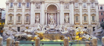 Trevi Fountain Rome Italy von Panoramic Images