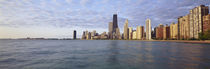 Lake Michigan Chicago IL by Panoramic Images