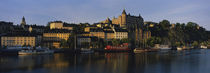 Buildings On The Waterfront, Stockholm, Sweden von Panoramic Images