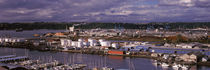 High angle view of a city, Tacoma, Pierce County, Washington State, USA by Panoramic Images