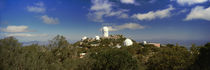 Observatory on a hill, Kitt Peak National Observatory, Arizona, USA by Panoramic Images