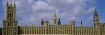 Facade Of Big Ben And The Houses Of Parliament, London, England, United Kingdom von Panoramic Images