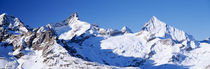 Mountains nr Matterhorn Canton Valais Switzerland by Panoramic Images